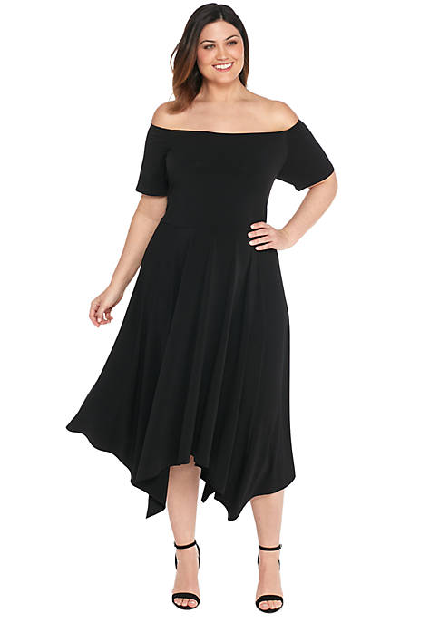 Plus Size Off The Shoulder Dress The Limited