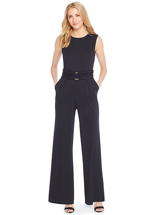 D-Ring Belt Jumpsuit