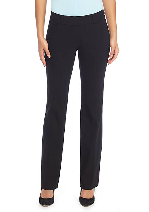 Signature Bootcut Pant in Exact Stretch