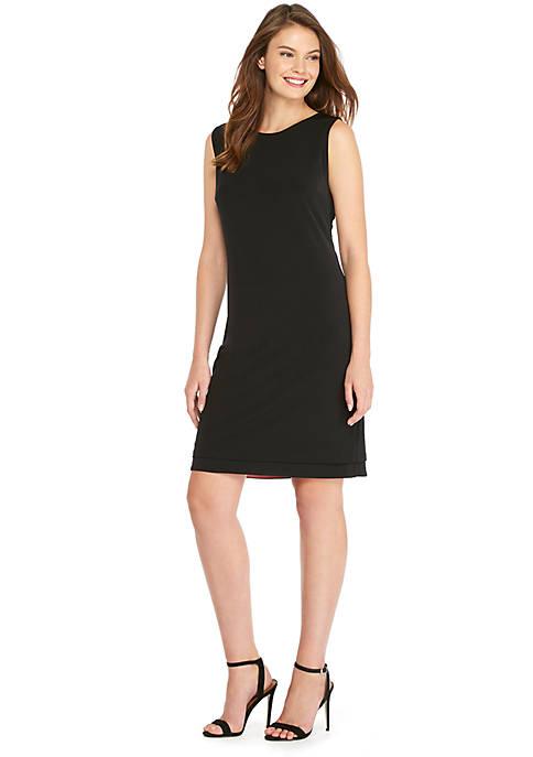 Petite Sleeveless Reversible Dress