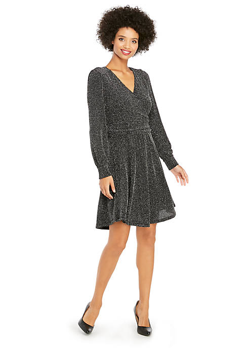 Petite Twinkle Knit Dress