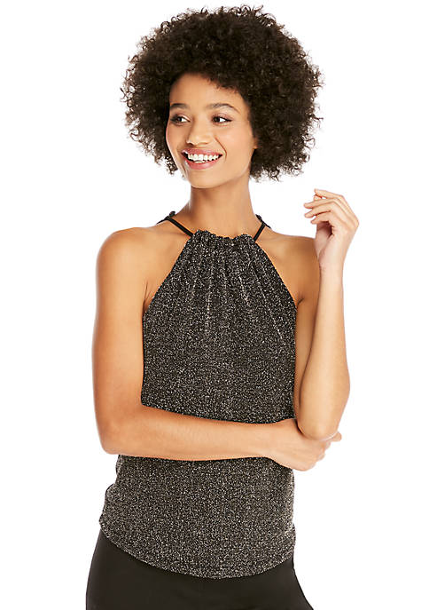 Twinkle Knit Halter Top