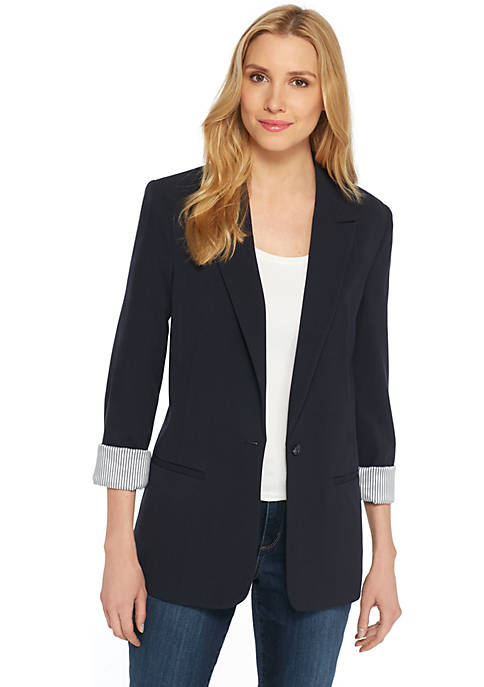 Boyfriend Blazer in Modern Stretch
