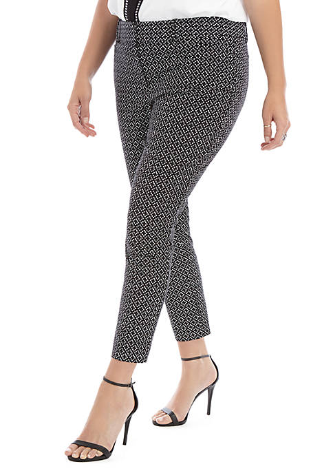 Plus Size Signature Ankle Pants in Exact Stretch