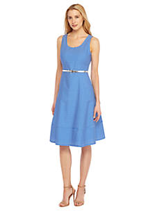The Limited Sleeveless Fit And Flare Dress
