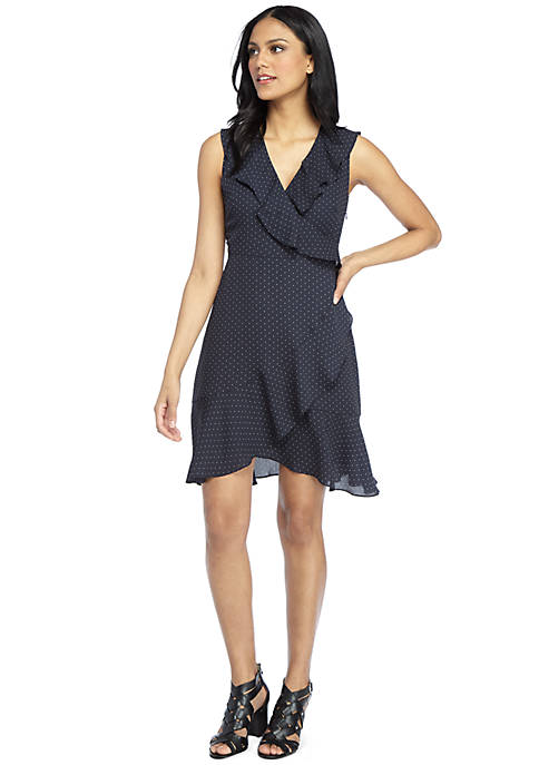 Lazy Day Fluid Crepe Dress