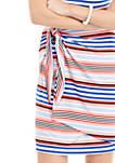 Petite Sleeveless Sarong Tie Dress