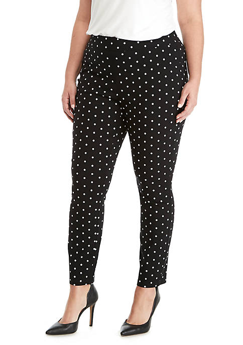 Plus Size Signature Pull-On Skinny Pants In Exact Stretch