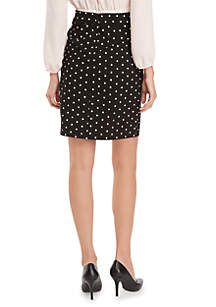 Signature Pencil Skirt in Exact Stretch