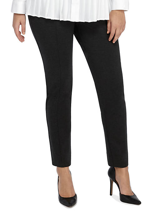 Plus Size Signature Pull-on Skinny Pant in Ponte