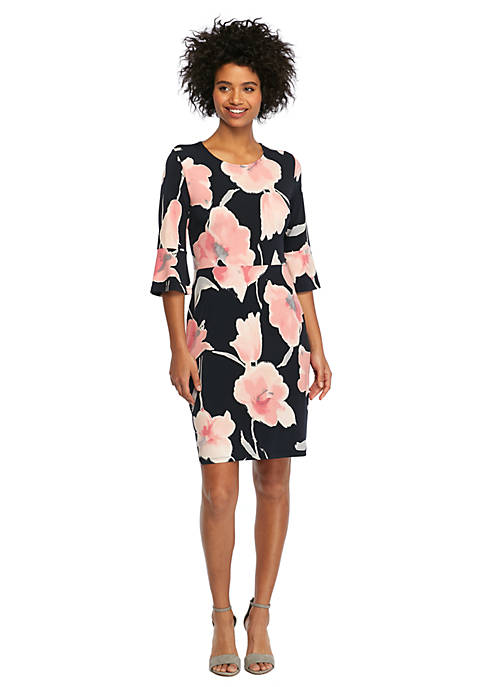 Petite Bell Sleeve Dress