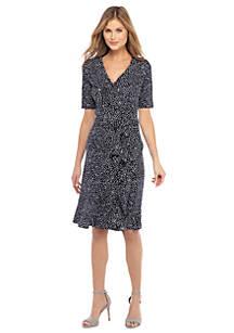 The Limited Pee Ruffle Jersey Dress