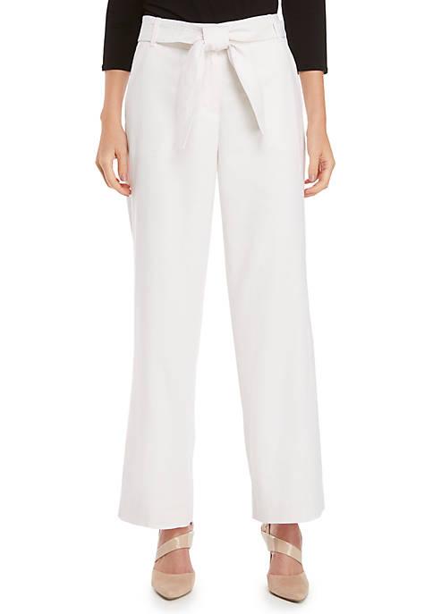 Full Length Linen Trousers