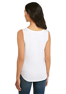 Petite Sleeveless Shell Top
