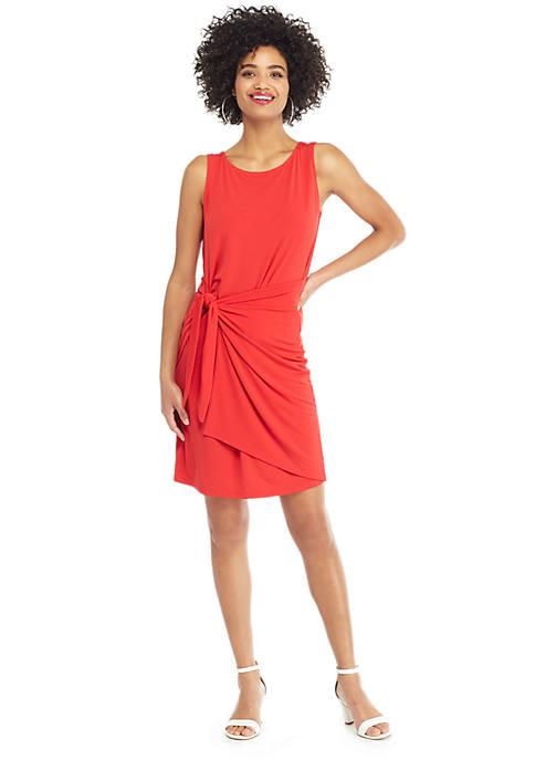 Sleeveless Sarong Tie Dress