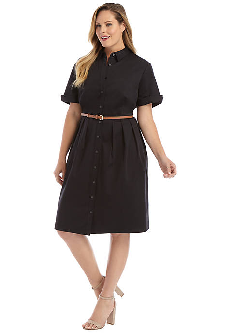 Plus Size Shirt Dress | THE LIMITED