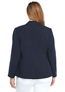 Plus Size New Drew 2 Button Blazer in Modern Stretch
