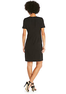 Short Sleeve Dress in Modern Stretch