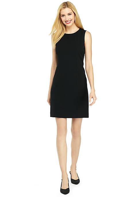 Sleeveless Dress in Modern Stretch