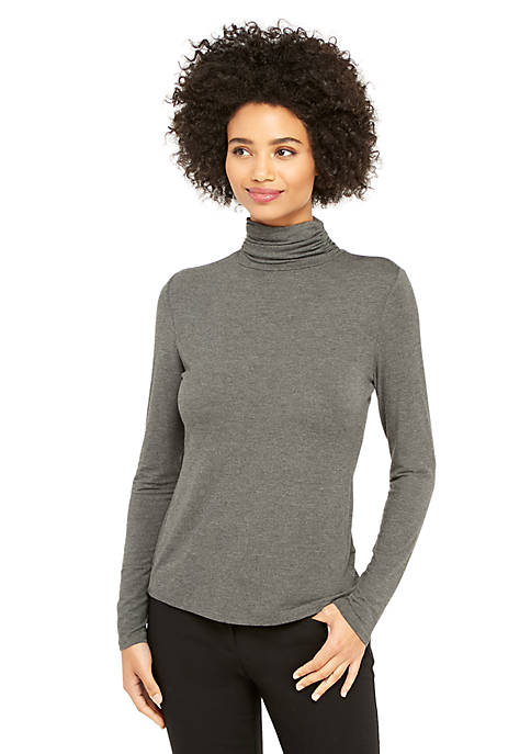 Long Sleeve Fashion Turtleneck Top