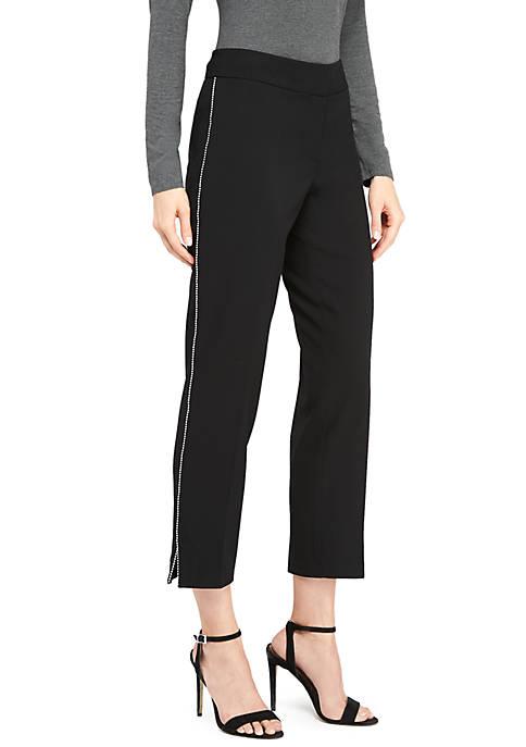 Silver Studded Skinny Pants
