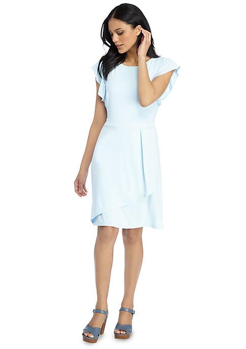 Petite Ruffle Dress