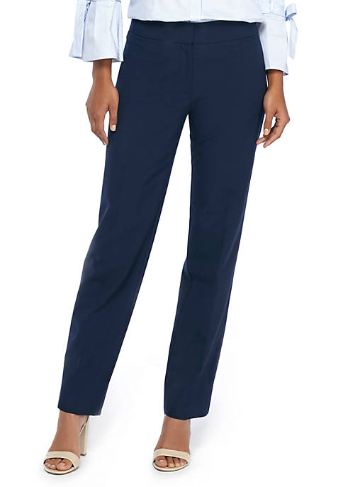 Petite Signature Straight Pant in Modern Stretch