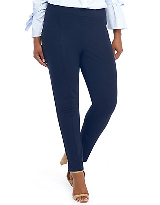 Plus Size Signature Pull-on Skinny Pant in Ponte | THE LIMITED