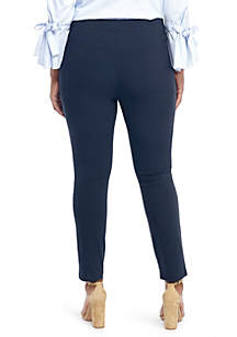 Plus Size Signature Pull On Skinny Pants in Exact Stretch