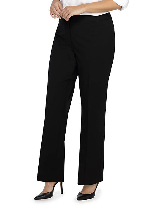 Plus Size Signature Bootcut Pant in Modern Stretch - Short