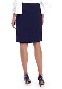 Signature Pencil Skirt in Modern Stretch
