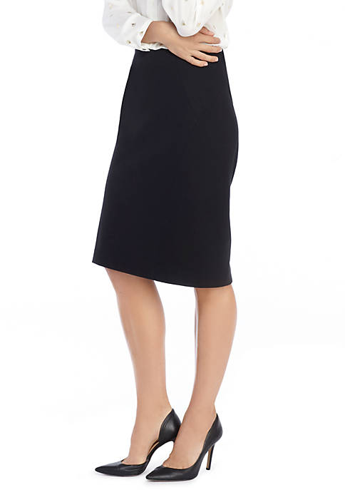 Signature Pencil Skirt in Ponte