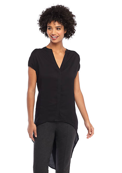 Curved Back Tunic