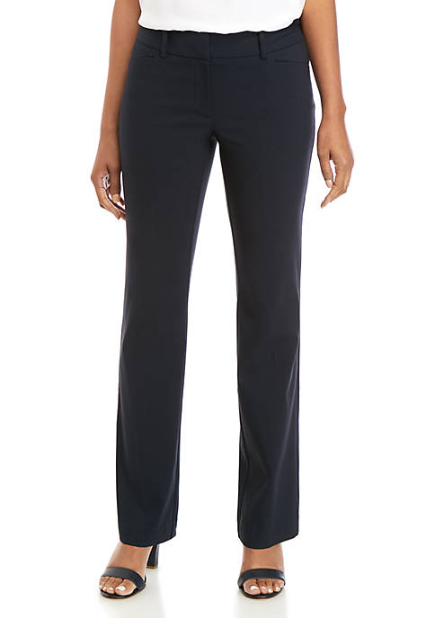 Signature Bootcut Pants in Exact Stretch