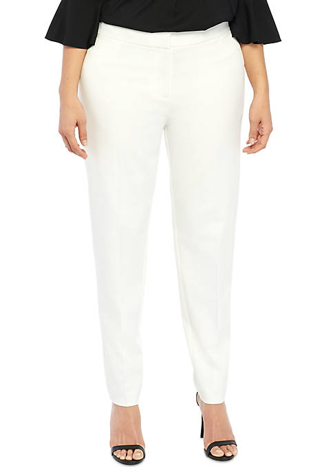 Plus Size Signature Skinny Pant in Two Way Spandex Twill