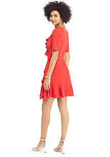 Ruffle Jersey Dress