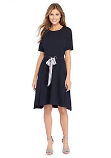 The Limited Crepe Tie Dress