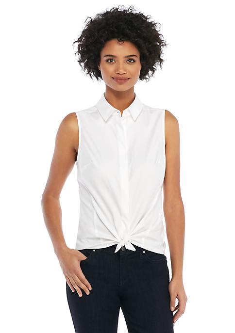 Cotton Sleeveless Shirt
