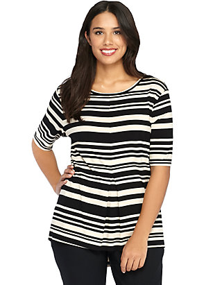 07811aedd70a5a Plus Size Striped High Low Top | THE LIMITED