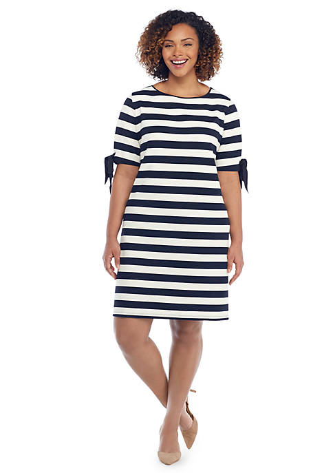 Plus Size Honeycomb Jacquard Dress The Limited