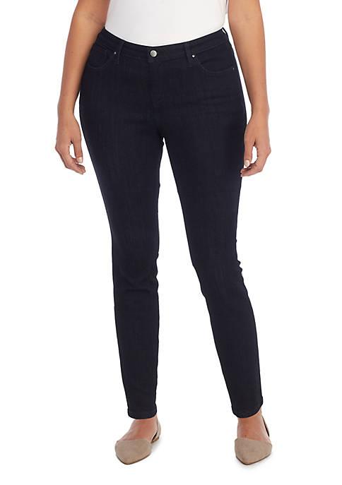 Plus Size Skinny Full Length Jeans