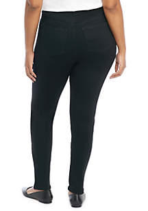 Plus Size Skinny Full Length Jeans