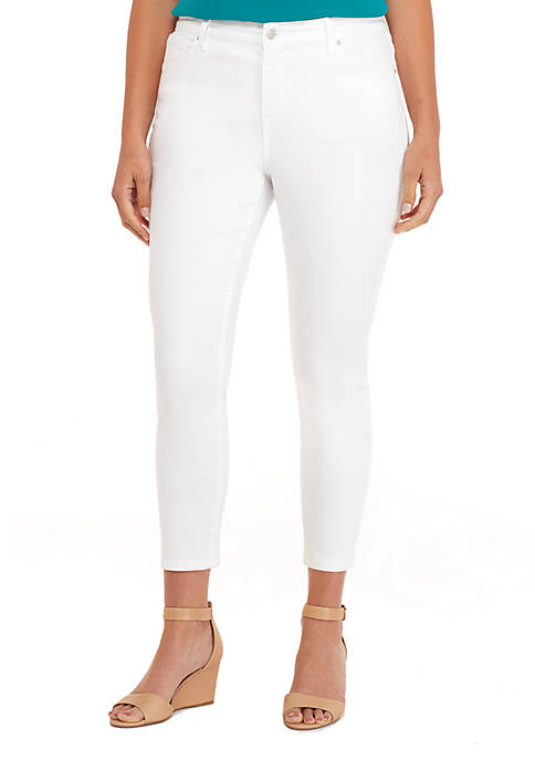 Plus Size Skinny Ankle Jeans