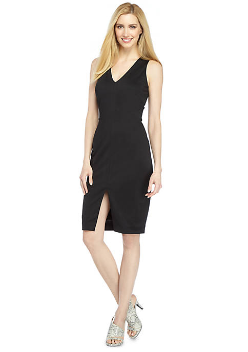 Taylor V Neck Sheath Dress
