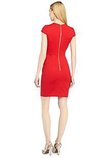Ariana Peplum Sheath Dress