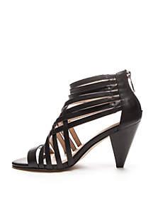 Adonna Memory Foam Heel Sandal