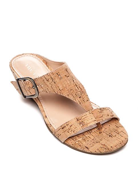 Izabella Memory Foam Wedge Sandal