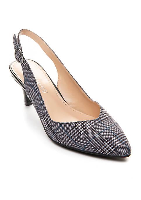 Manana Plaid Sandal