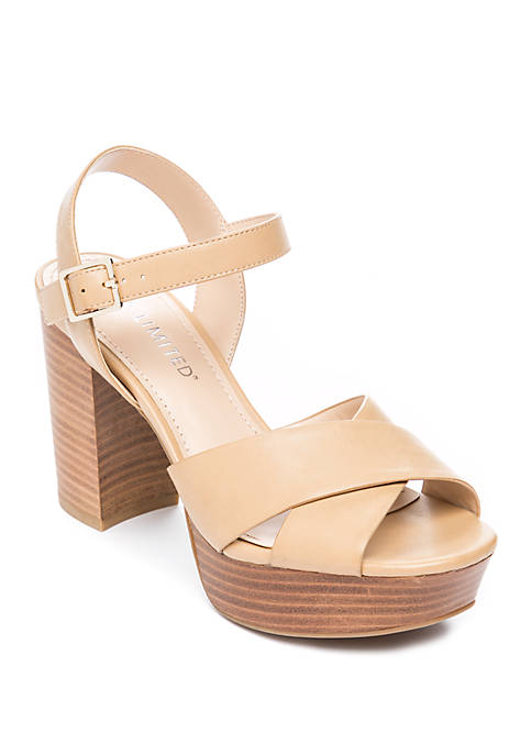 Frangelica Block Heel Sandals