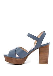Frangelica Block Heel Sandals